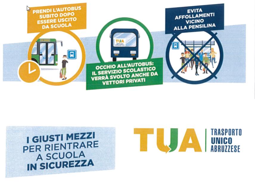 Orari corse Autolinee trasporti TUA - Polo di Teramo