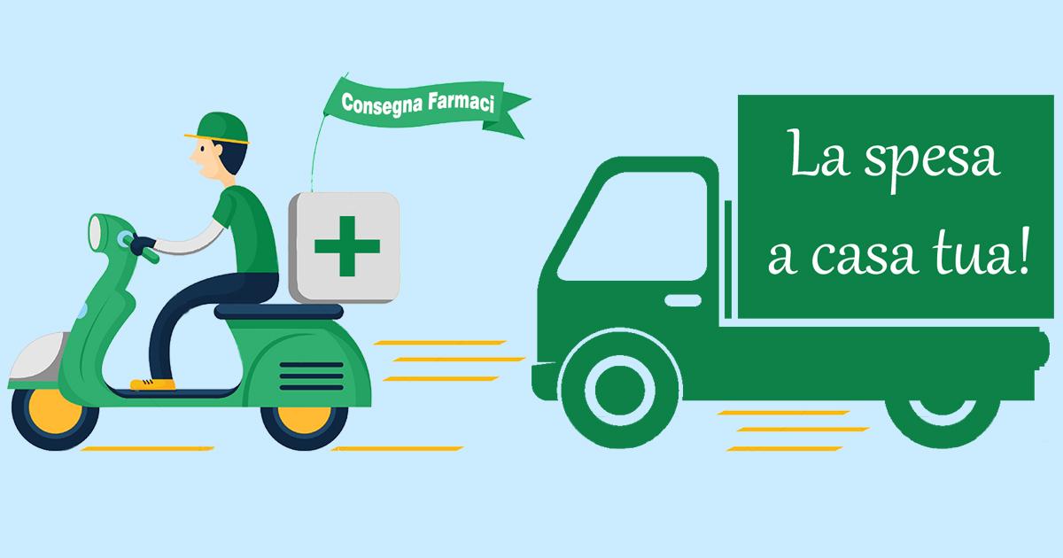 Emergenza COVID-19 - Servizio di Pronto Farmaco e consegna spesa alimentare a domicilio