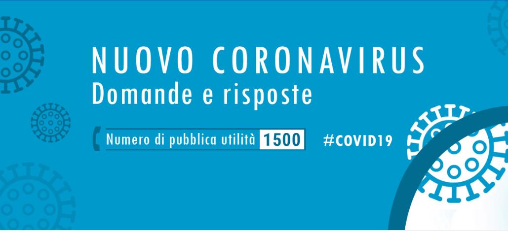 Coronavirus: Ordinanza Regione Abruzzo su Misure di informazione e prevenzione