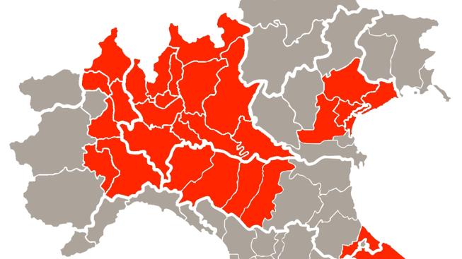 Dpcm 8 marzo 2020 che vieta ingresso e uscita dalle province del Nord Italia