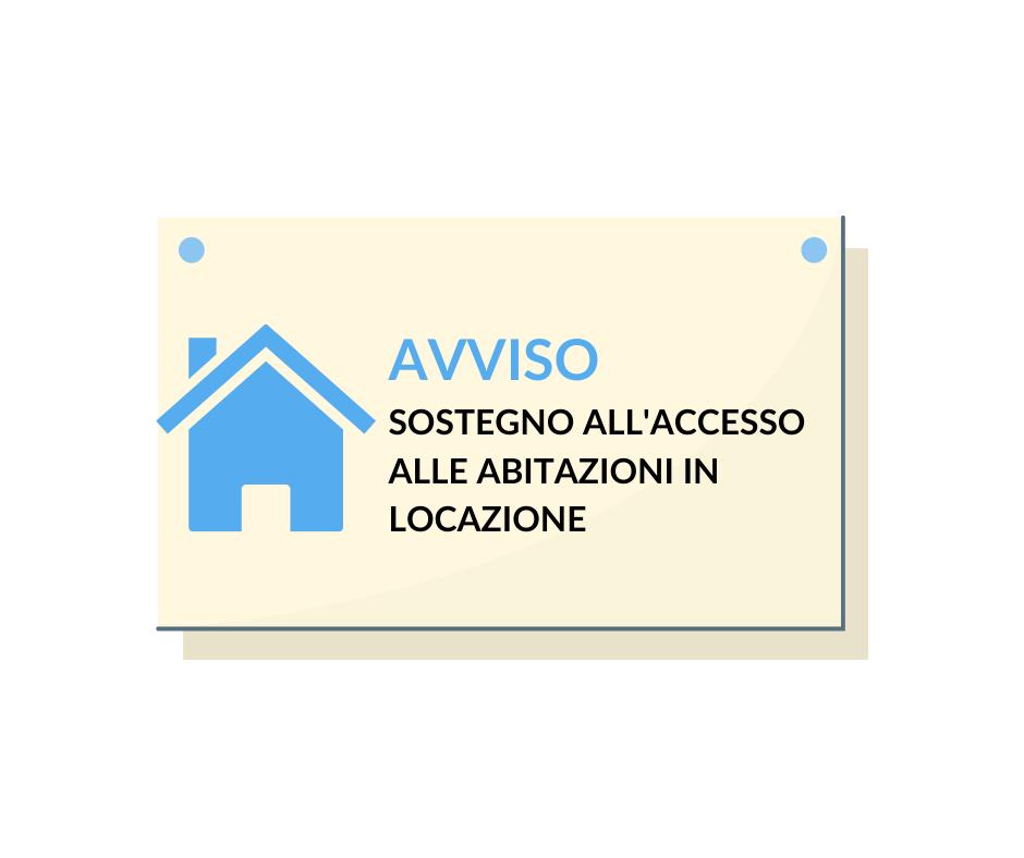 BANDO PUBBLICO Per la formazione della graduatoria degli aspiranti all'assegnazione del contributo annuale per il sostegno all'accesso delle abitazioni in locazione nel Comune di Castel Castagna